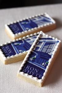 Blue Tile cookie