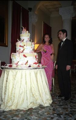 Massive Italian Wedding Cake