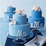 monogram minicakes