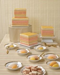 Minimalist Un-iced cake