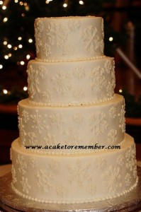 snowflake cake Dec 10 2012 wm