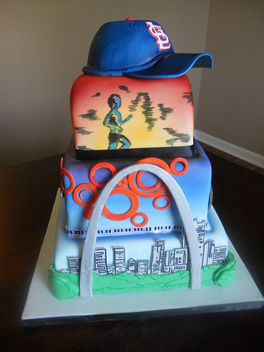 Magnificent St Louis Cake A Wedding Cake Blog Funny Birthday Cards Online Fluifree Goldxyz