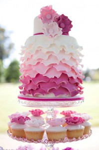 ruffle-pink-wedding-cake