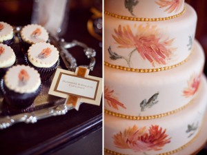 Handpainted cake