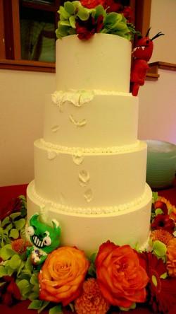 Gremlin Wedding Cake