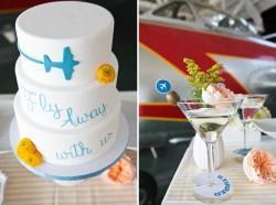 Pan Am Wedding Cake