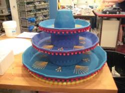 Sombrero Wedding Cake