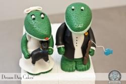 Gator Cake Topper