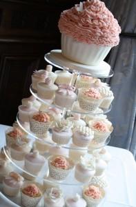 Giant Cupcake Cupcake Tower