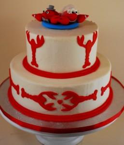 Lobster groom's cake