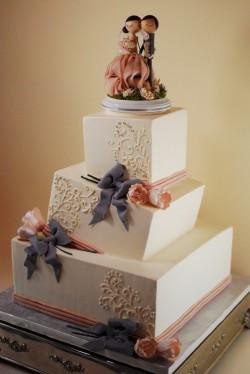 Square Wonky Cake