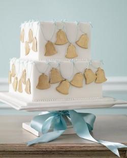 wedding bell wedding cake