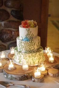 Wedding Cake- Summer Garden Wedding