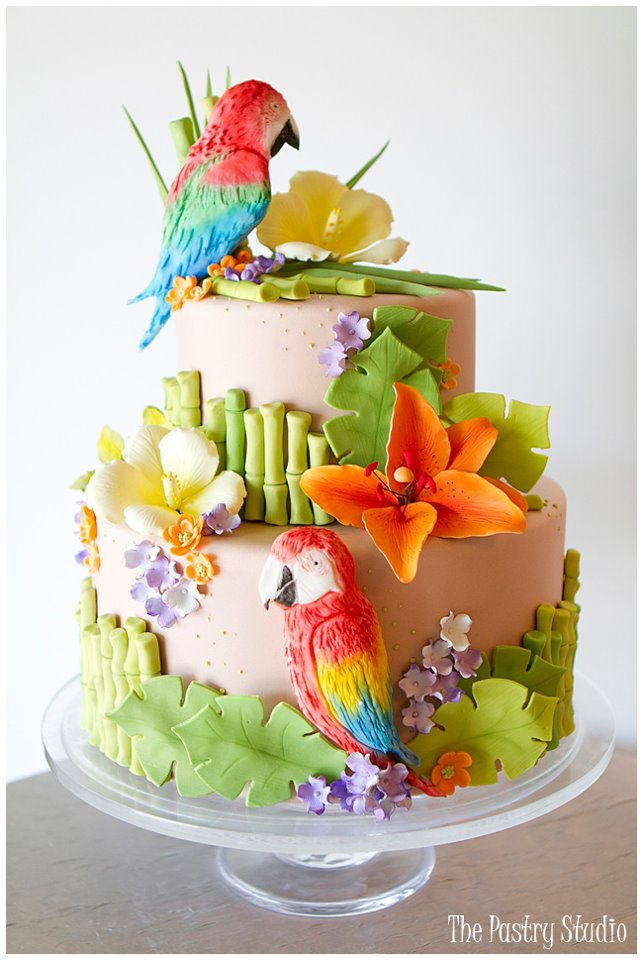 tropical themed wedding cakes tropical wedding cakes a wedding cake 21273