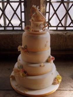 Teacup Wedding Cake