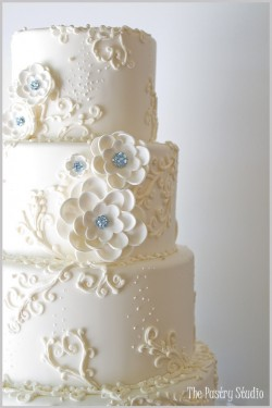 Beautiful Cake by The Pastry Studio...Who Happened to Bake My Cake, Too!