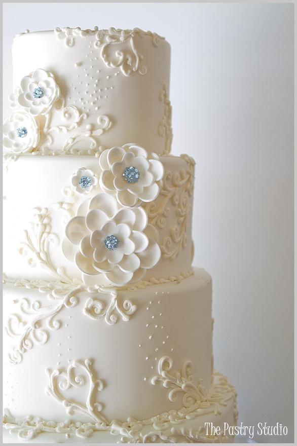 Bit Wedding Cake Toppers
