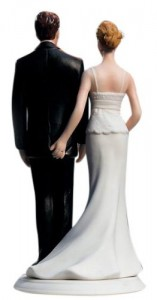 Bride Copping a Feel Cake Topper