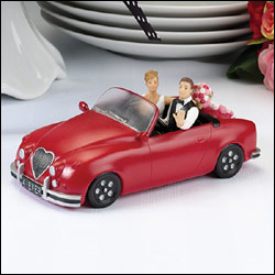Love Car Cake Topper