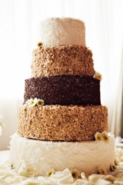 Homespun Wedding Cake