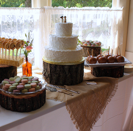 Rustic Sweets Table And Pie Pops