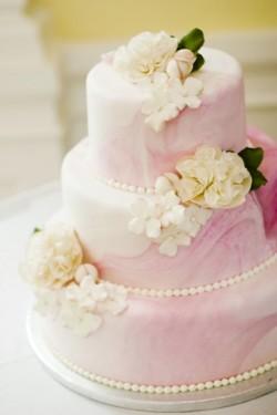 Marbleized Pink Cake