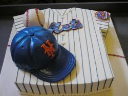 Mets Jersey Grooms Cake