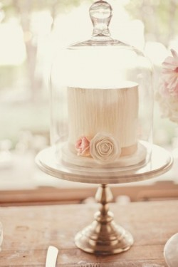 double tall wedding shower cake