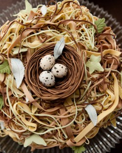 Birds Egg Wedding Cake