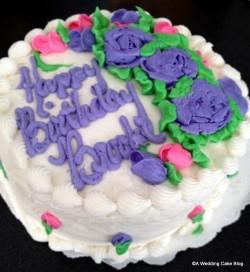Spring Hill Bakery Birthday Cake