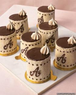 chocolate espresso charlottes
