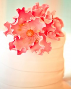 Sugar Peony Cake Topper