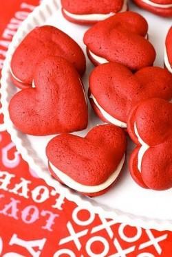 Heart Whoopie Pies