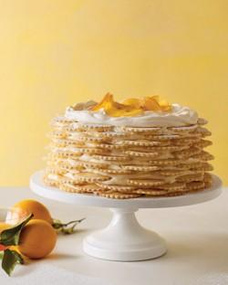Lemon Icebox Wedding Cake