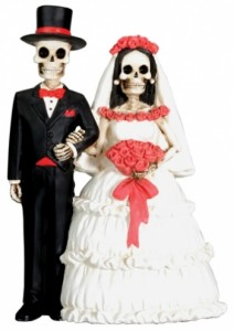 Day-of-the-Dead-Skulls-Wedding-Cake-Topper----