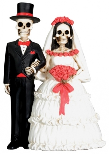 day of the dead wedding cake topper bride and groom unconventional wedding cakes a wedding cake part 6 13361
