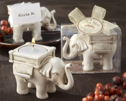 Lucky-Elephant-Antique-Ivory-Finish-Tea-Light-Holder