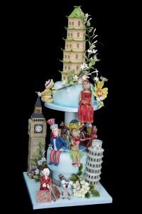 Hockleys Around the World Cake