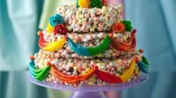 cereal wedding cake