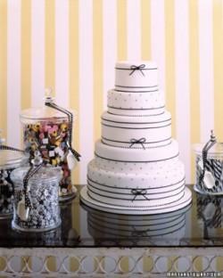 licorice wedding cake