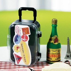 suitcase favor