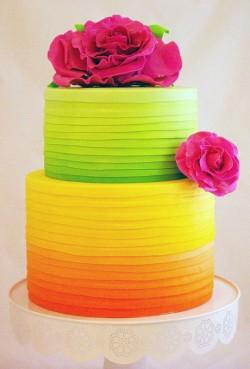 wedding-cake-photos-neon-Citrus-Raspberry-Wedding-Cake