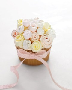 bouquet cupcake