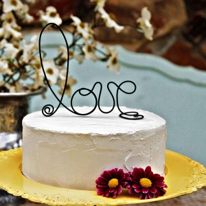 one tier cake