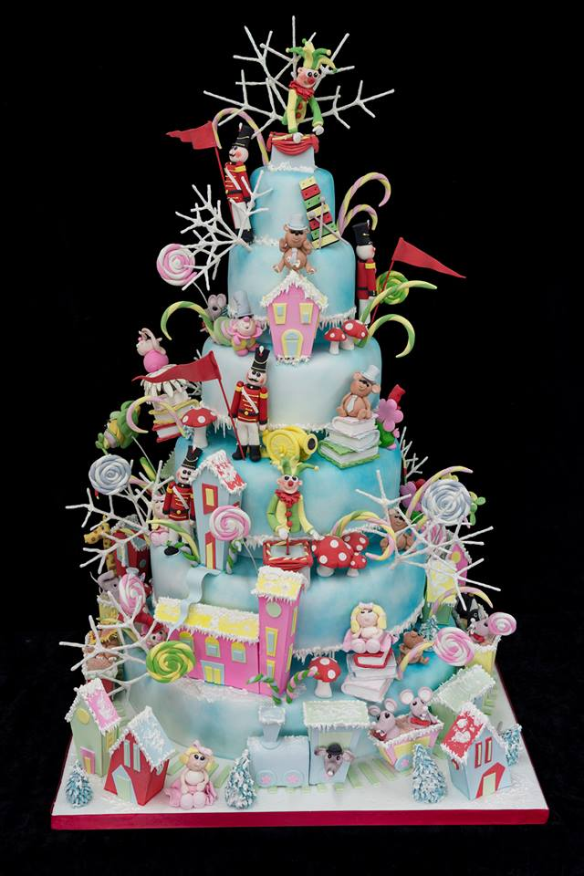 Christmas Themed Cakes Pictures