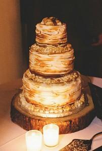 smores wedding cake