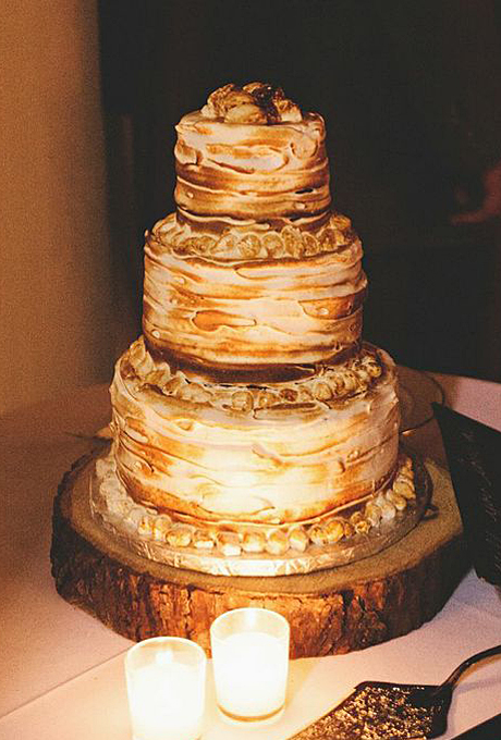 s mores wedding cake recipe rustic wedding cakes a wedding cake 20255