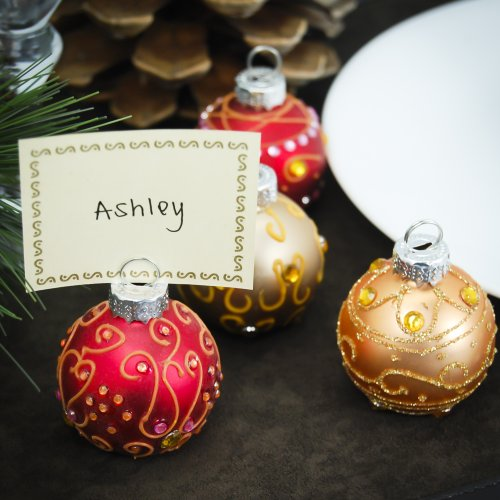 Wedding Place Card Holder Ideas: Fun Wedding Favors – Ornament Place Card Holders