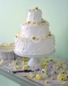cake with mums