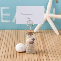 glass placecard holder